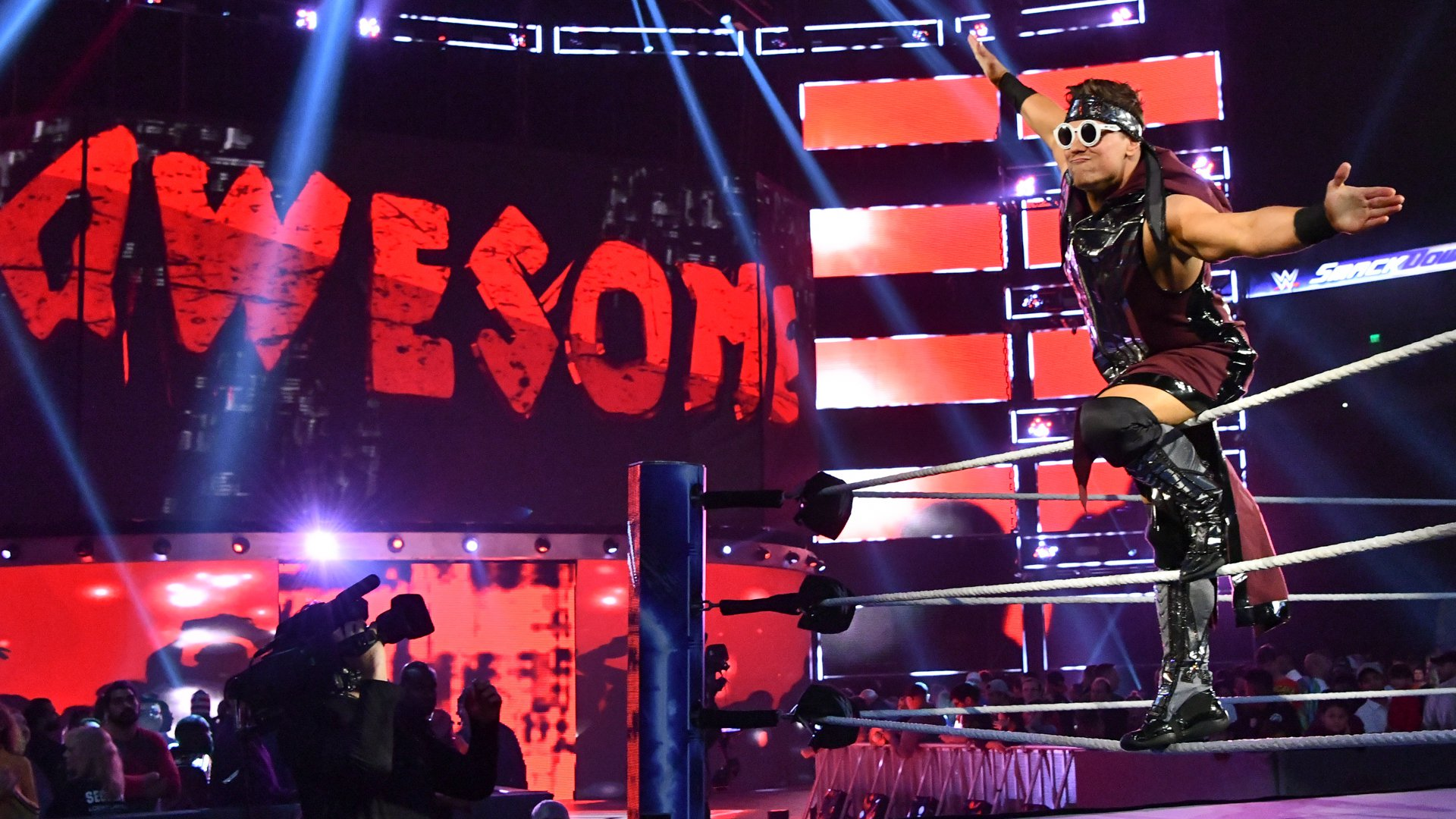 The Miz is ready for his main event match.