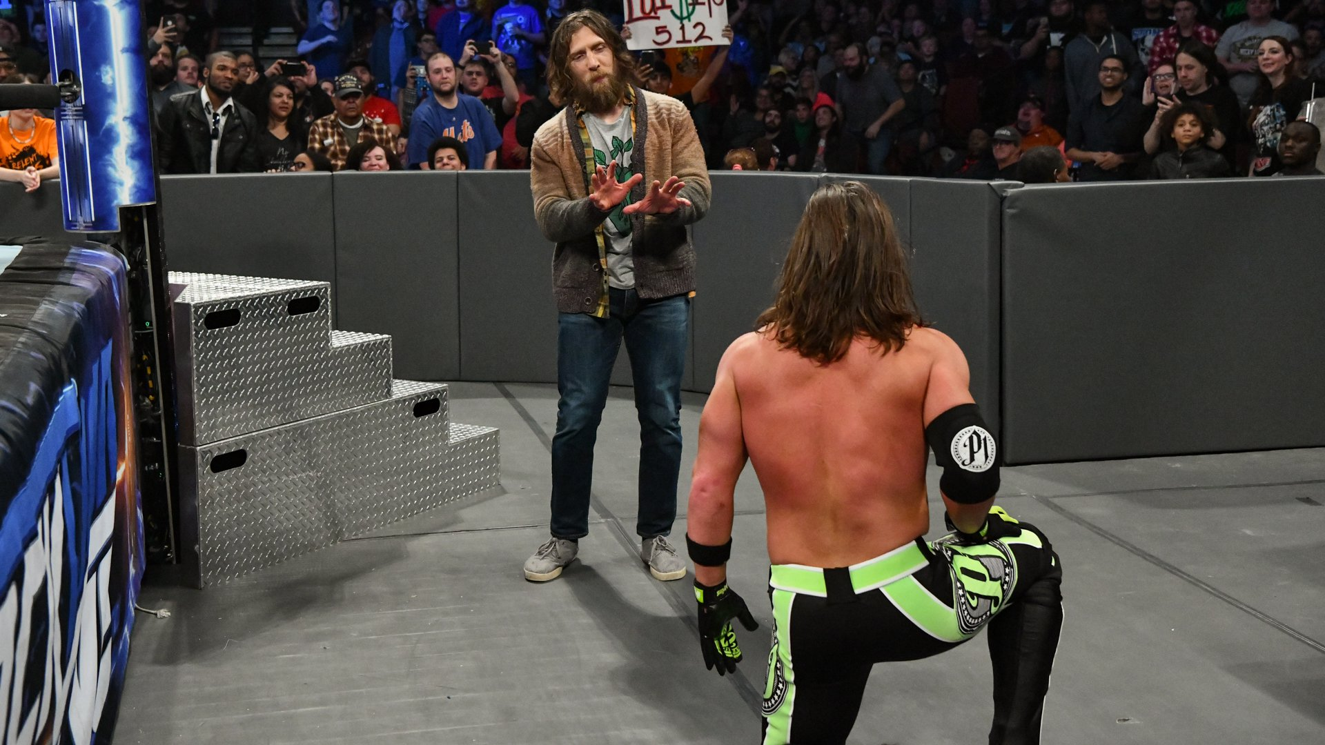Bryan attempts to distract Styles...