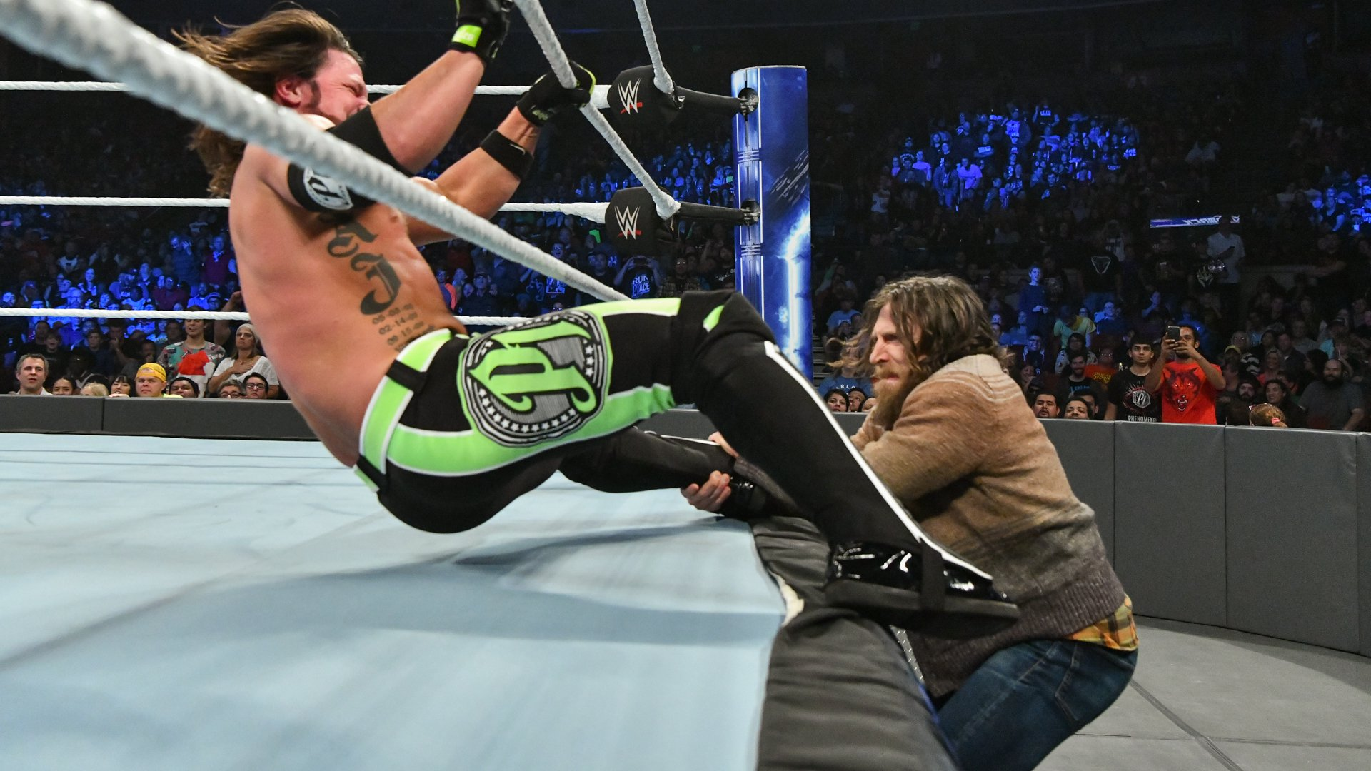 Styles escapes Bryan's interference...