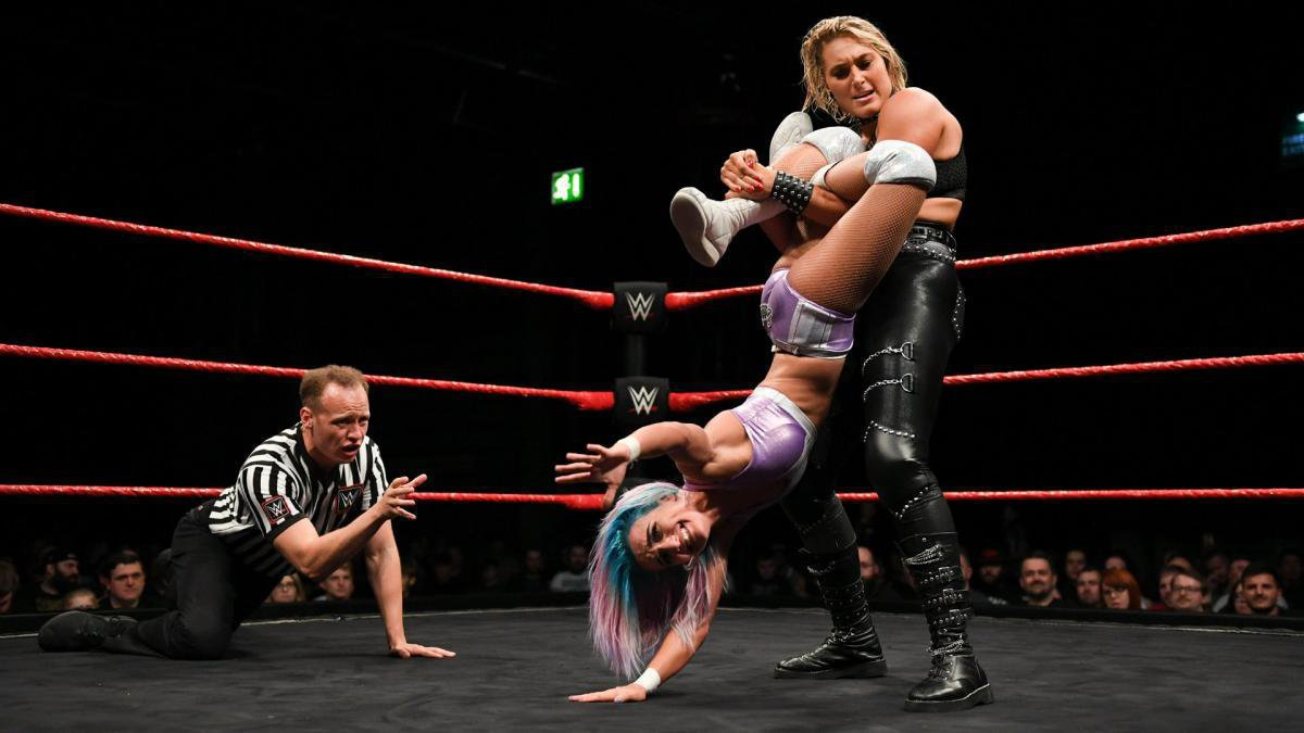 When the tournament gets under way, Rhea Ripley overcomes Xia Brookside ...
