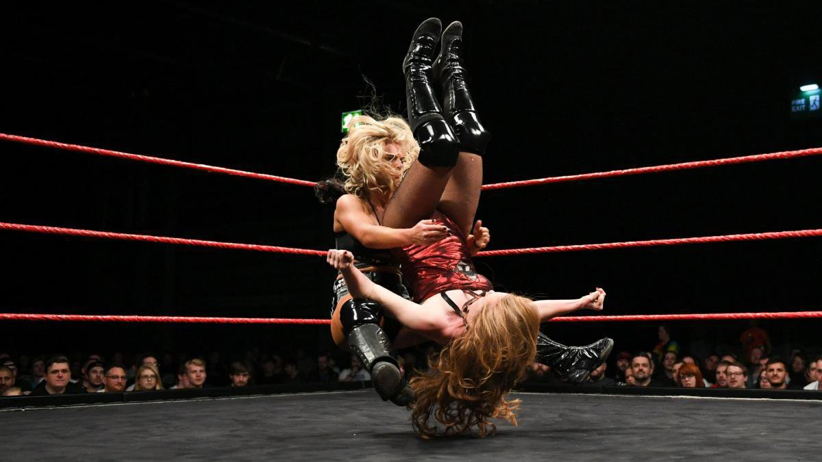 Meanwhile, Toni Storm defeats Isla Dawn ...