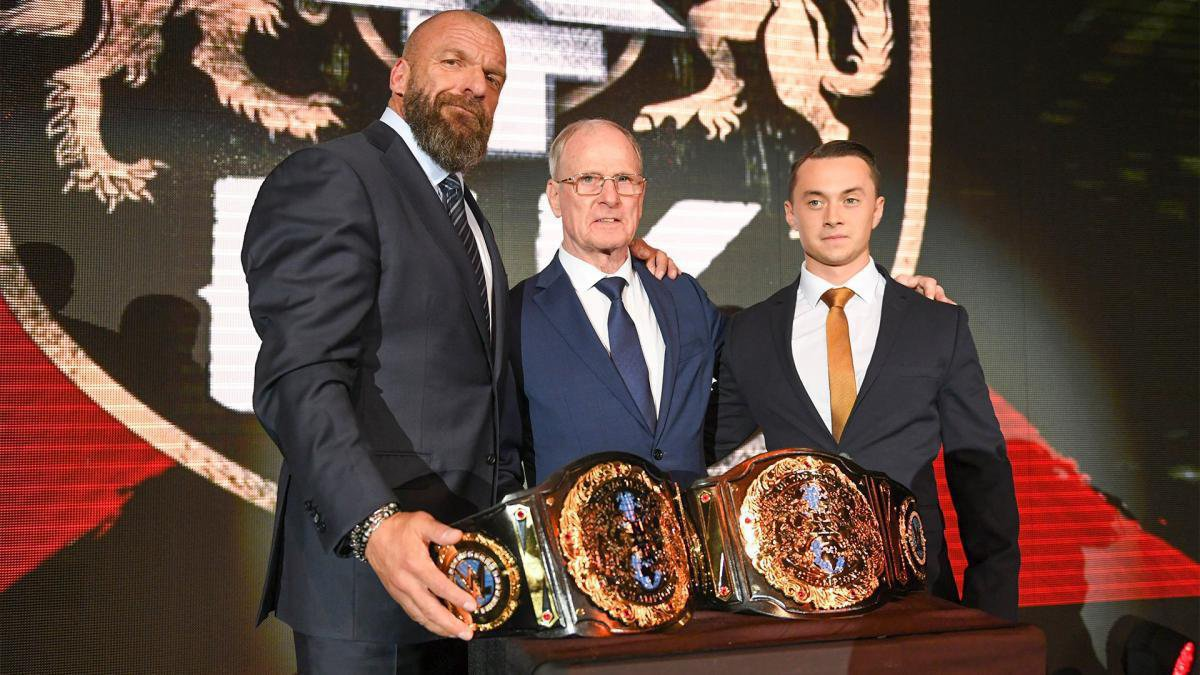 As a result, new tag teams begin to test their mettle in combat until the fateful day when Triple H, Johnny Saint and Sid Scala finally unveil the new NXT UK Tag Team Titles.
