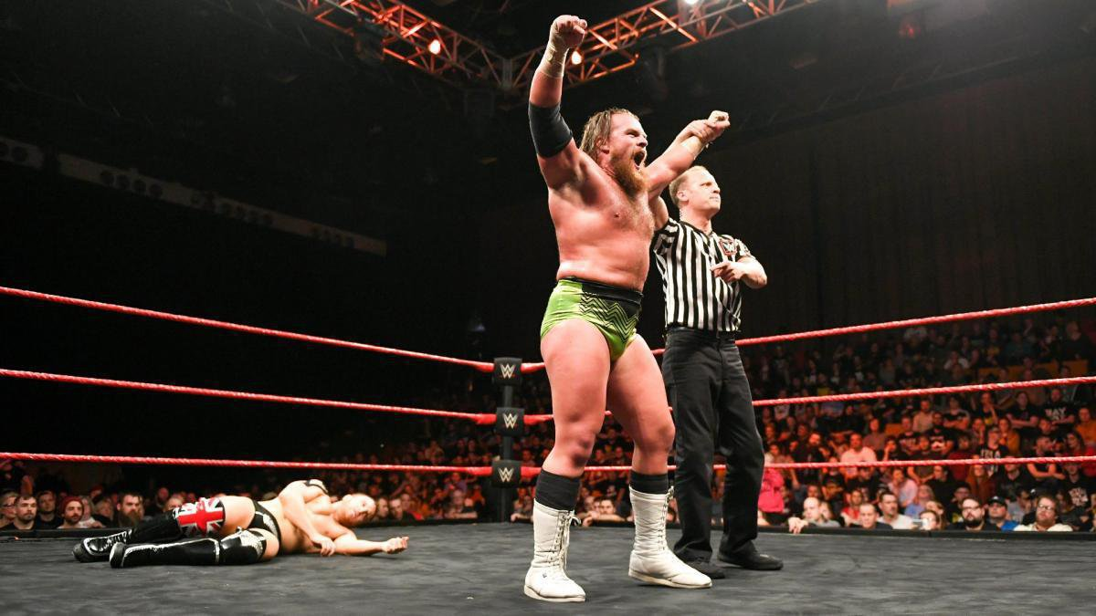 ... looking to show that he is the competitor that will finally conquer Pete Dunne's nearly 600-day reign as WWE United Kingdom Champion.