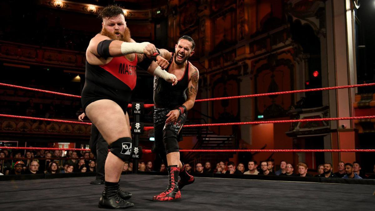 Amidst the continued animosity for each other, Dennis and Mastiff again square off on NXT UK.