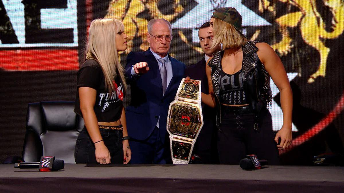 In a pre-TakeOver Press Conference, tension reaches a fever pitch between the NXT UK Women's Champion and Storm and there is no telling just how brutal their imminent clash will be.