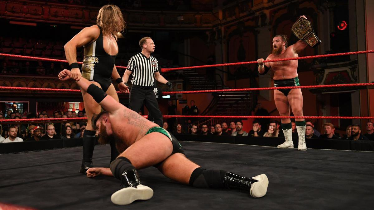 ... where Coffey walks away with the victory for his team and picks up the momentum that could very well end Dunne's longstanding reign.