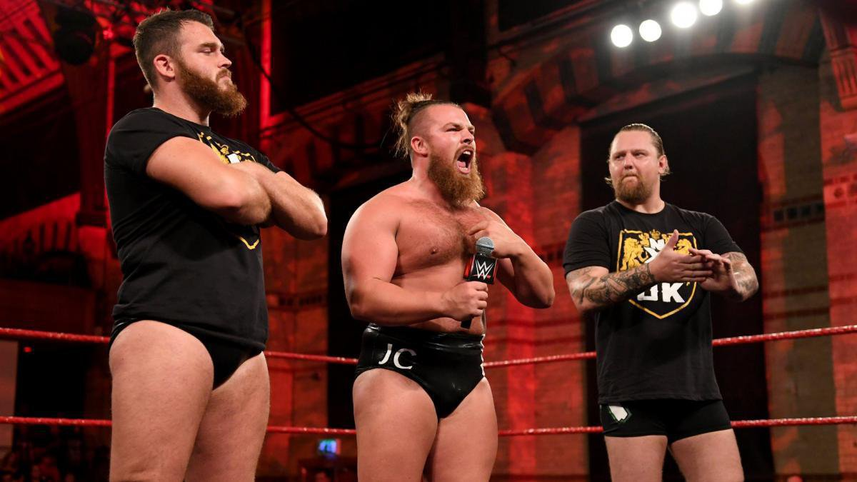 ... NXT UK is their kingdom.