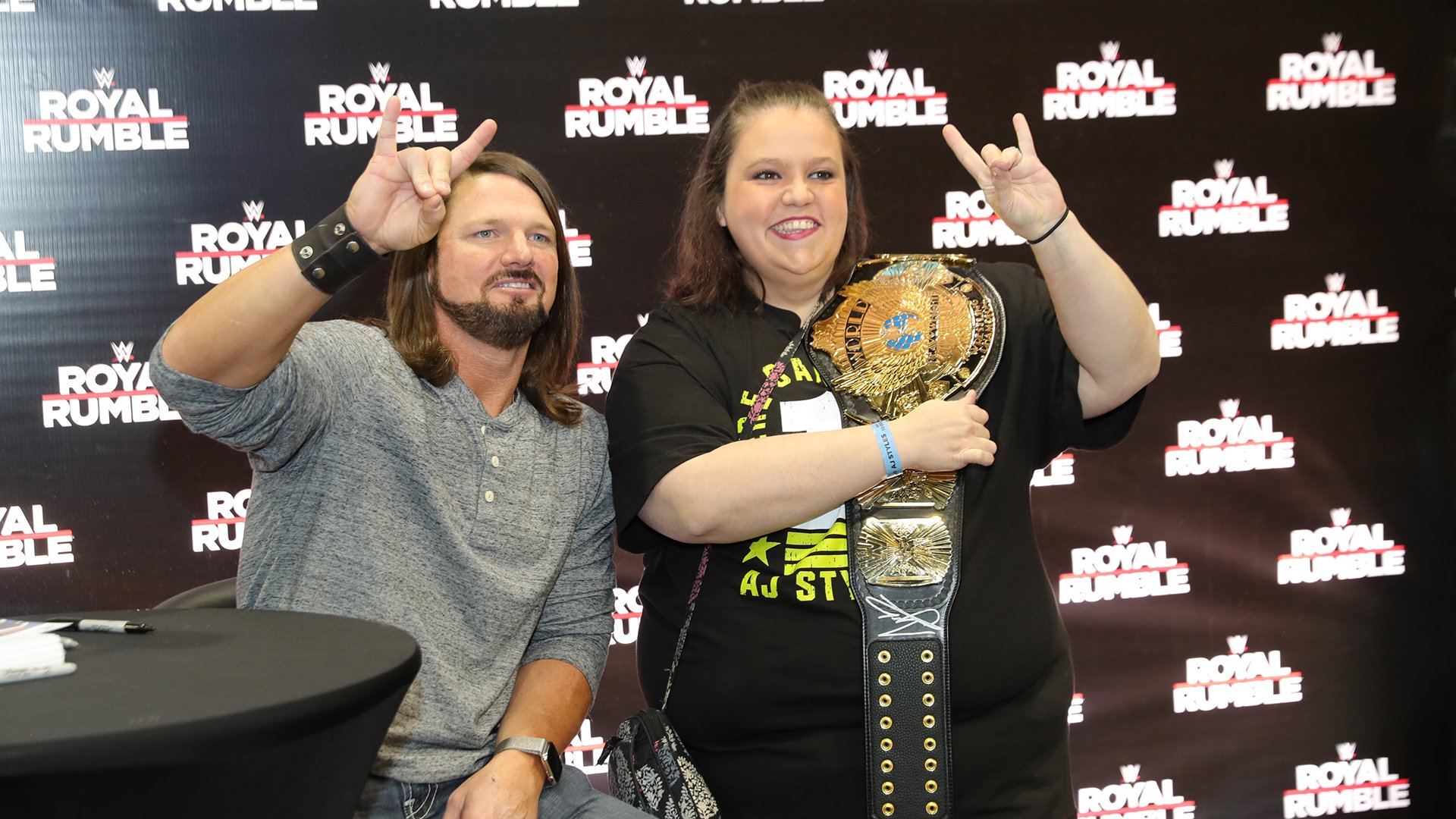 Royal Rumble Axxess 2019 - Day 2, Session 1: photos
