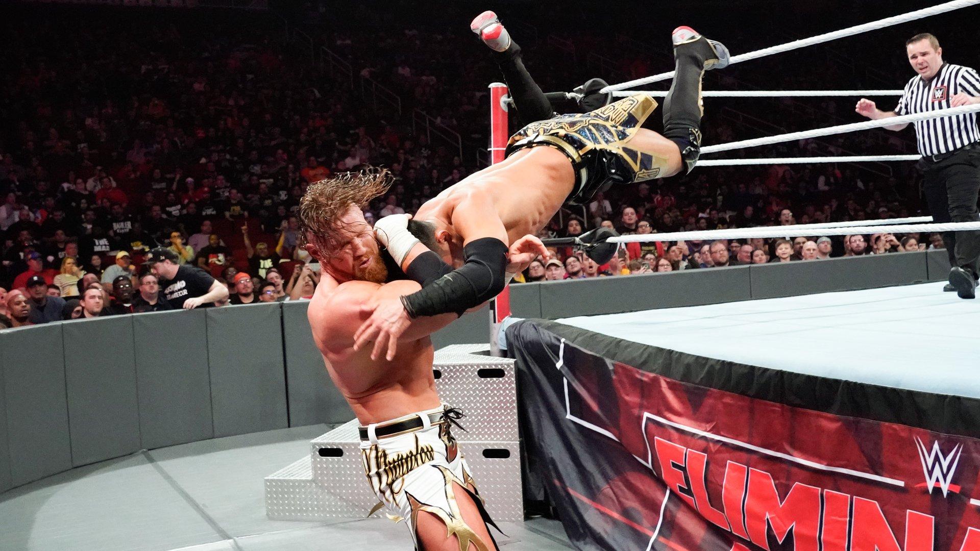 Buddy Murphy vs. Akira Tozawa - Championnat Cruiserweight WWE: photos