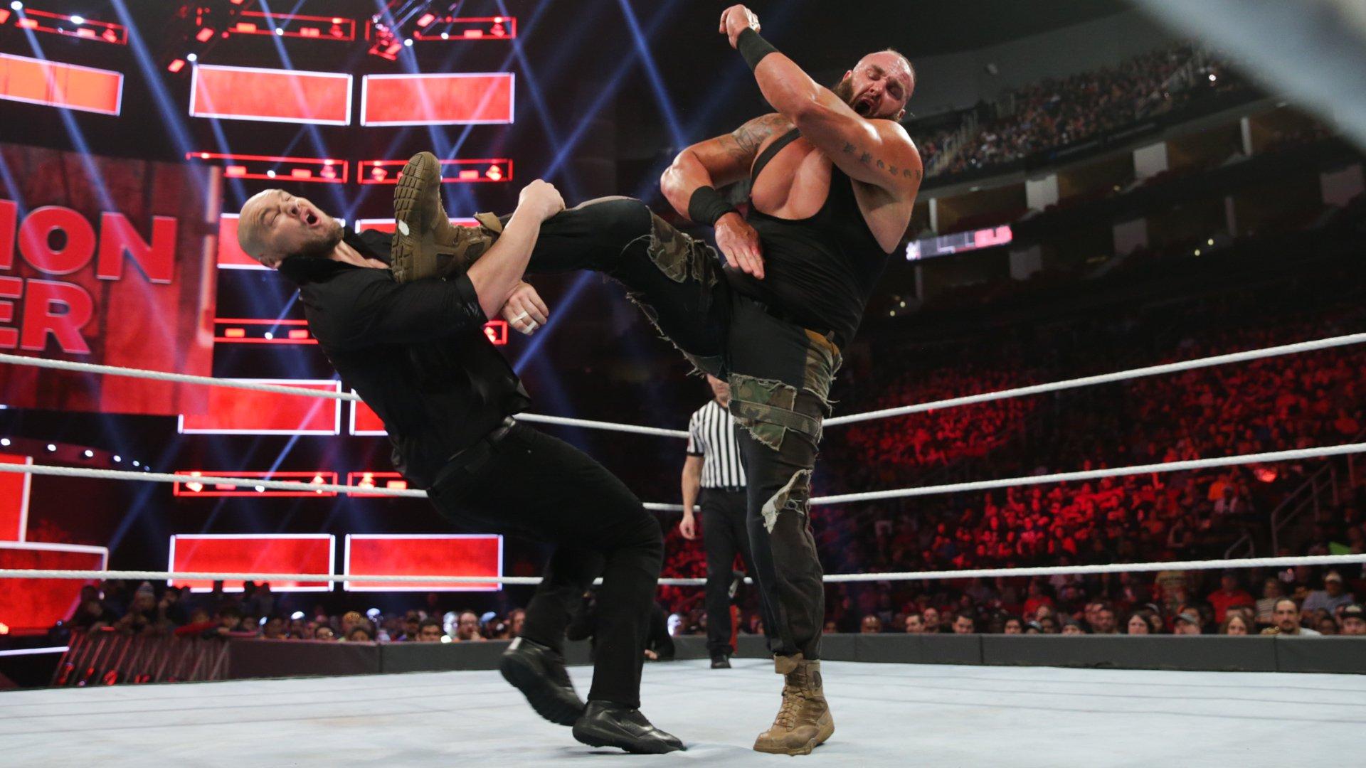 Braun Strowman vs. Baron Corbin - Match Sans Disqualification: photos