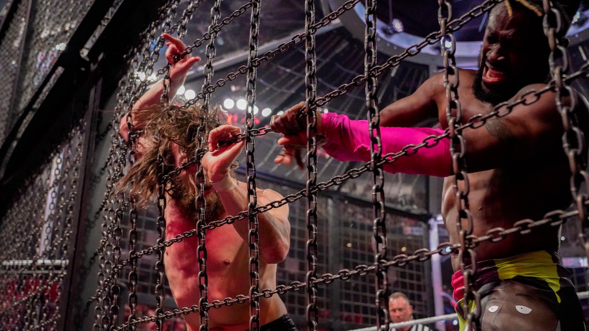 Match Elimination Chamber pour le Championnat WWE: photos