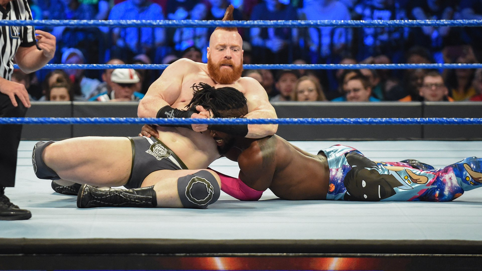 Sheamus is Kofi's first opponent!