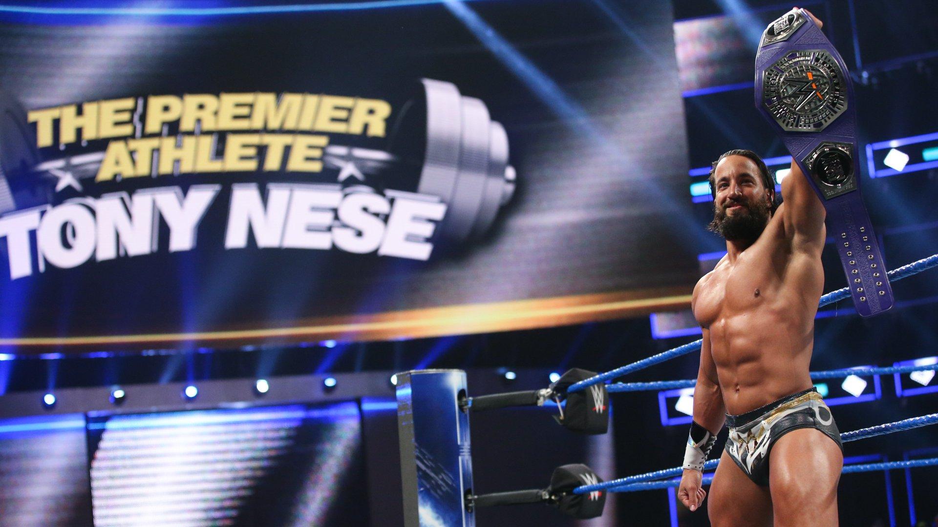 Tony Nese vs. Buddy Murphy - WWE Cruiserweight Championship Match
