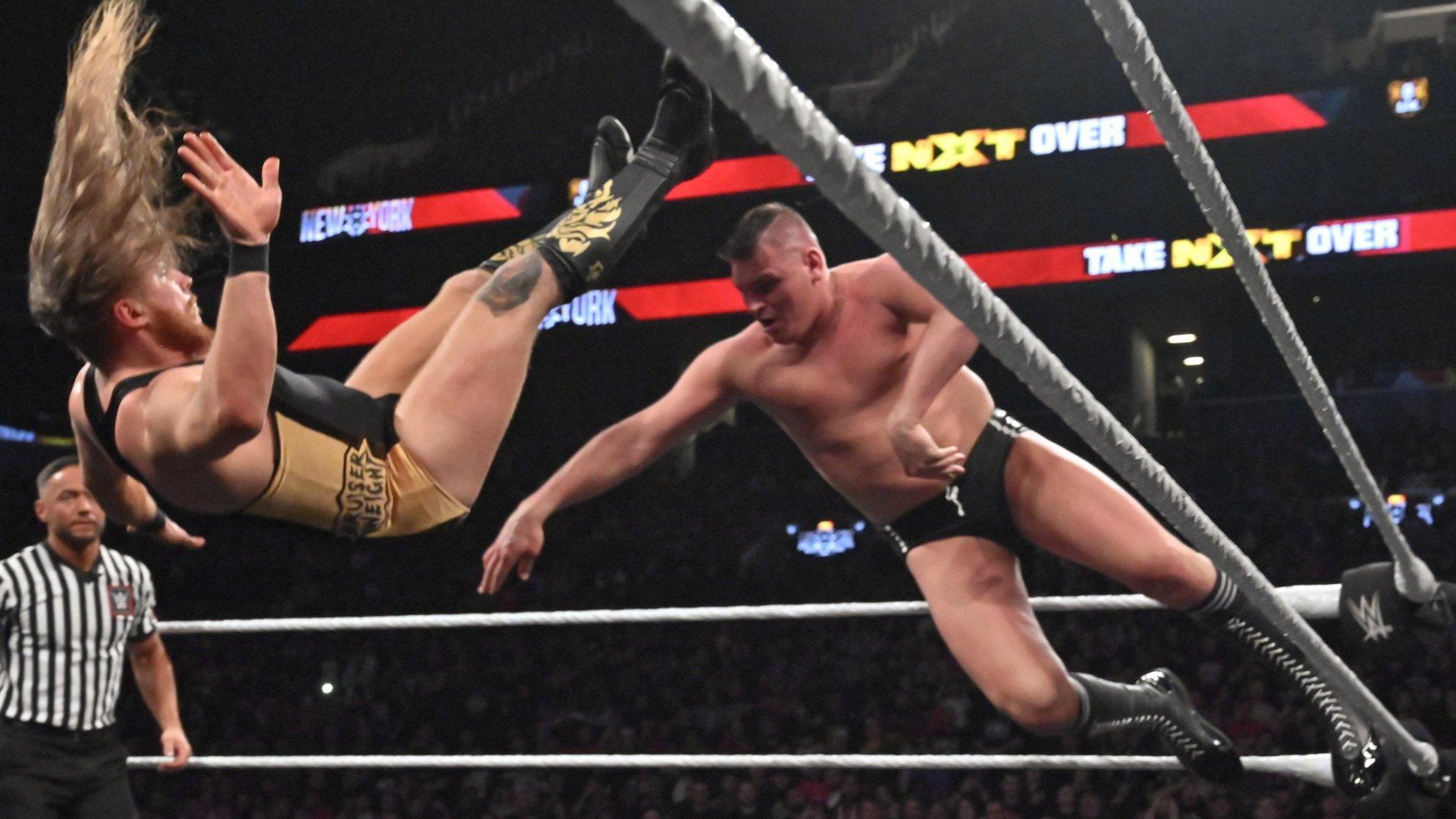 Pete Dunne vs. WALTER - WWE United Kingdom Championship Match: photos