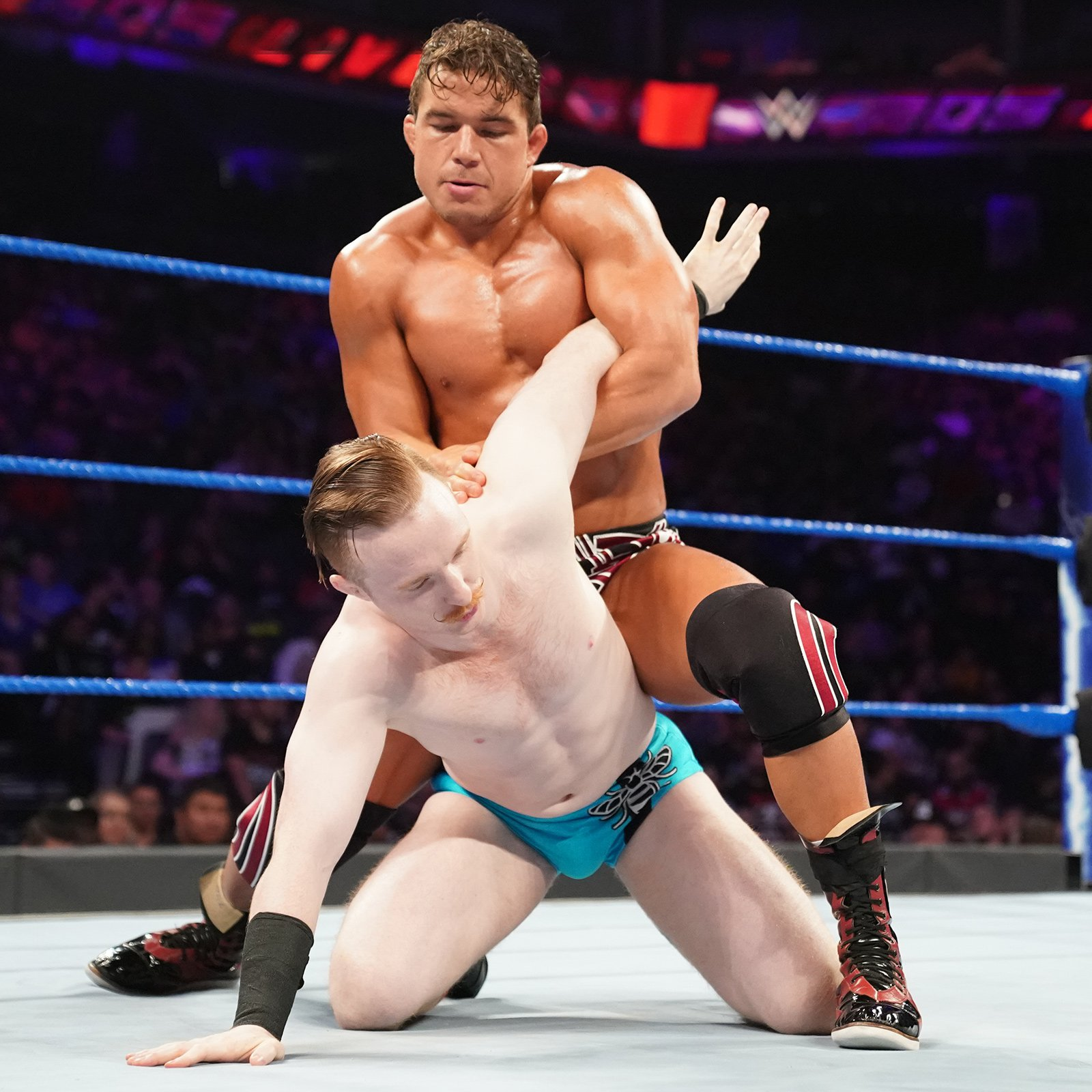 Gentleman Jack Gallagher vs. Chad Gable