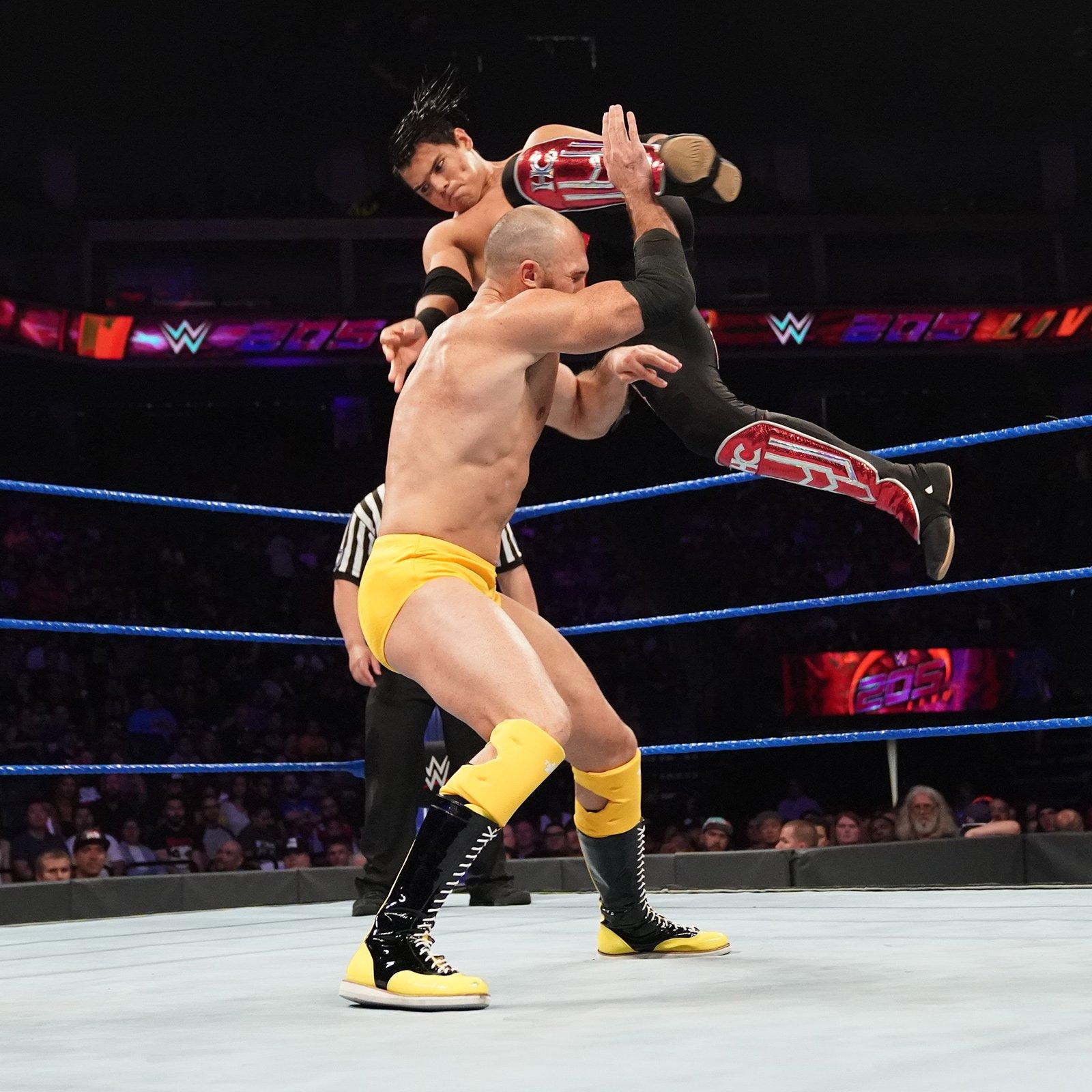 Akira Tozawa vs. Humbero Carrillo vs. Oney Lorcan vs. Drew Gulak