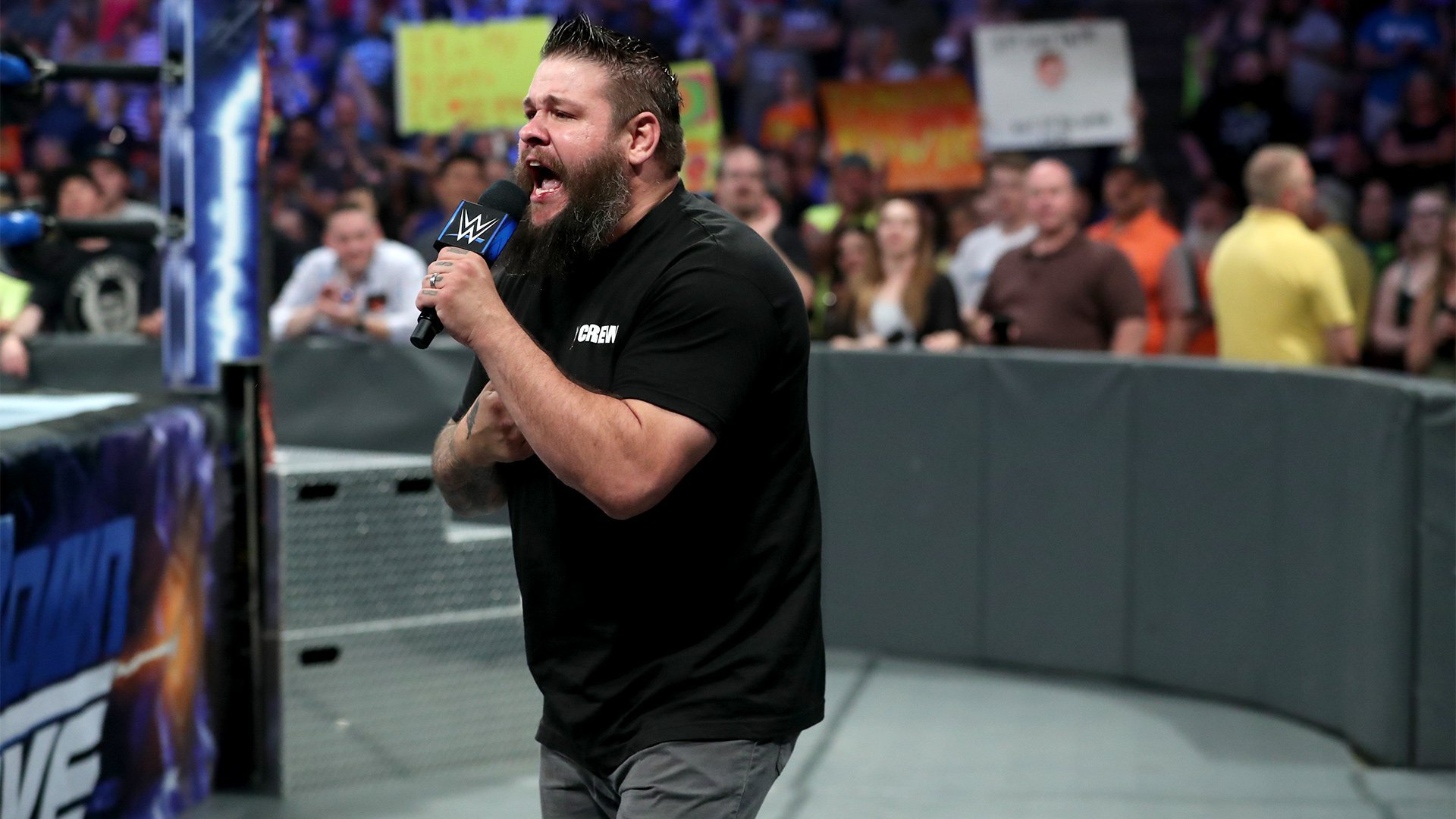 """Owens says it's an insult to everyone backstage when Shane calls himself """"The Best in the World."""""""