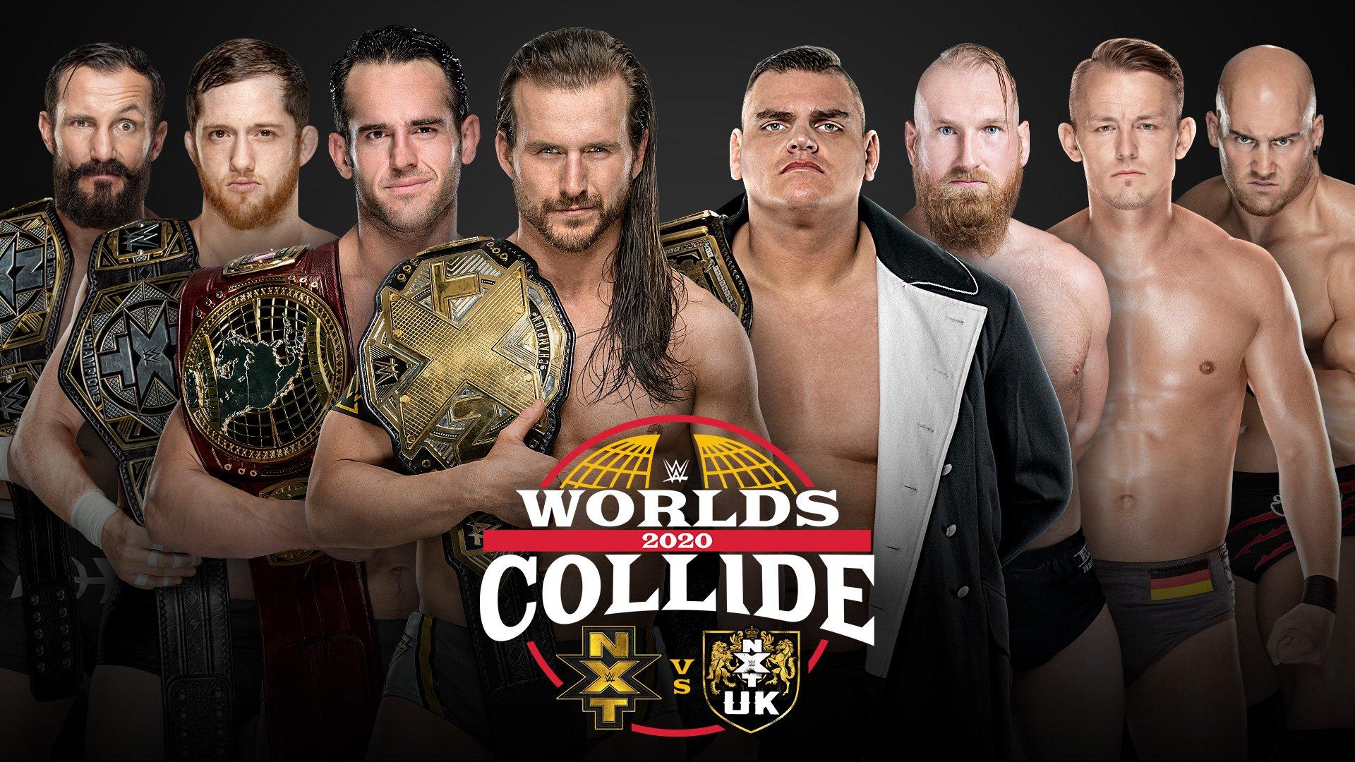 Resultado de imagen para World collide WWE 2020