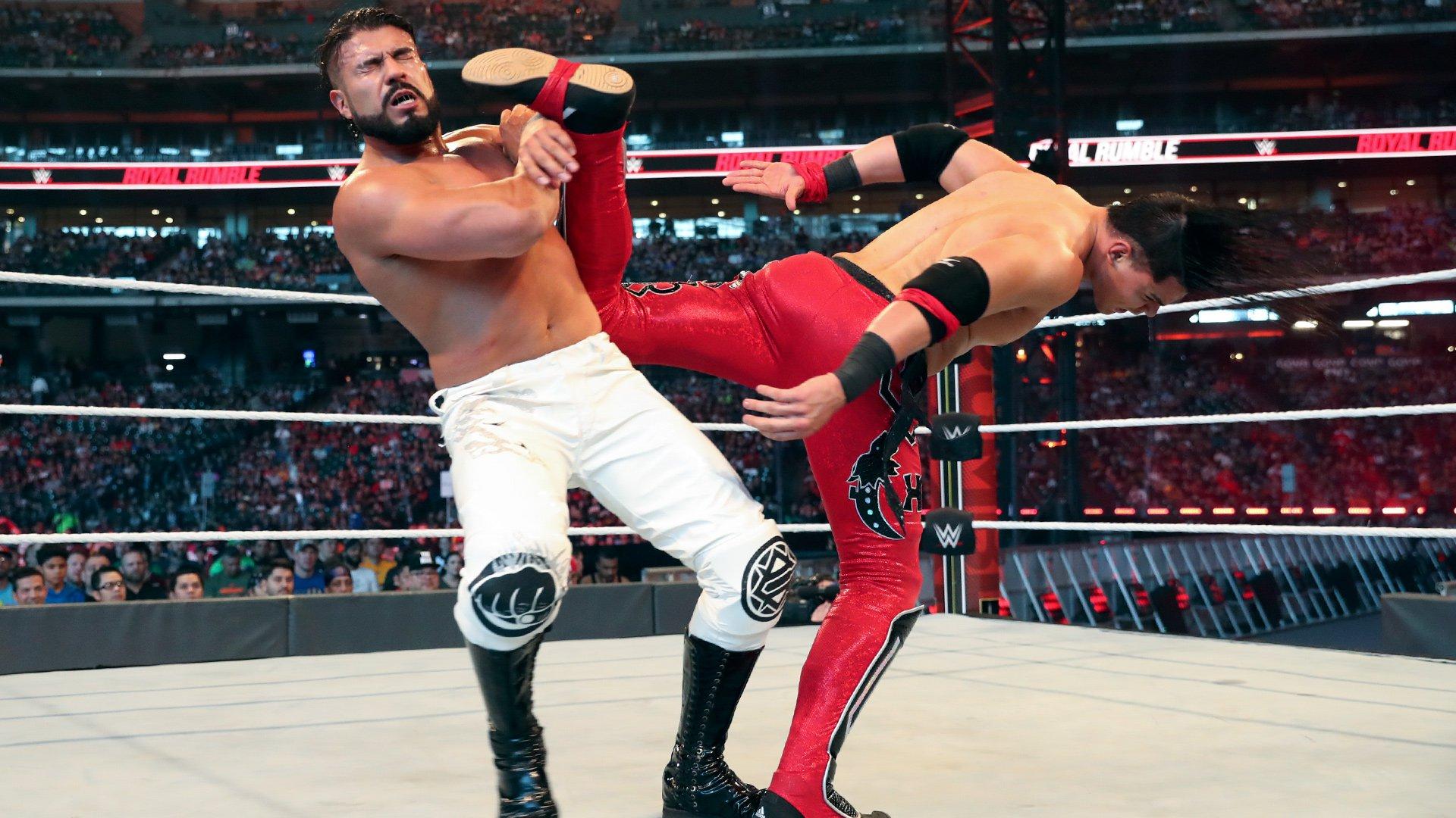 Andrade retém o WWE United States Championship no Royal Rumble