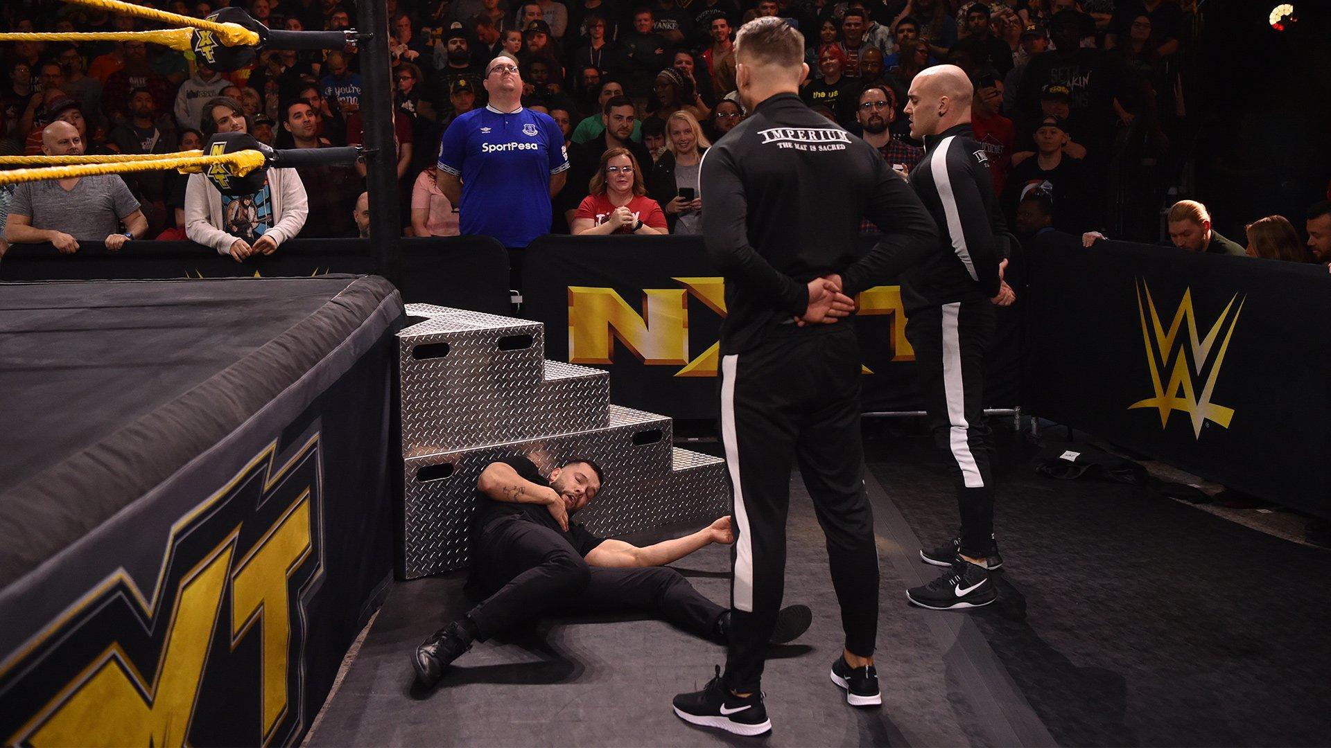 """""""Finn Bálor vs. WALTER"""" pode ter iniciado no NXT desta noite"""