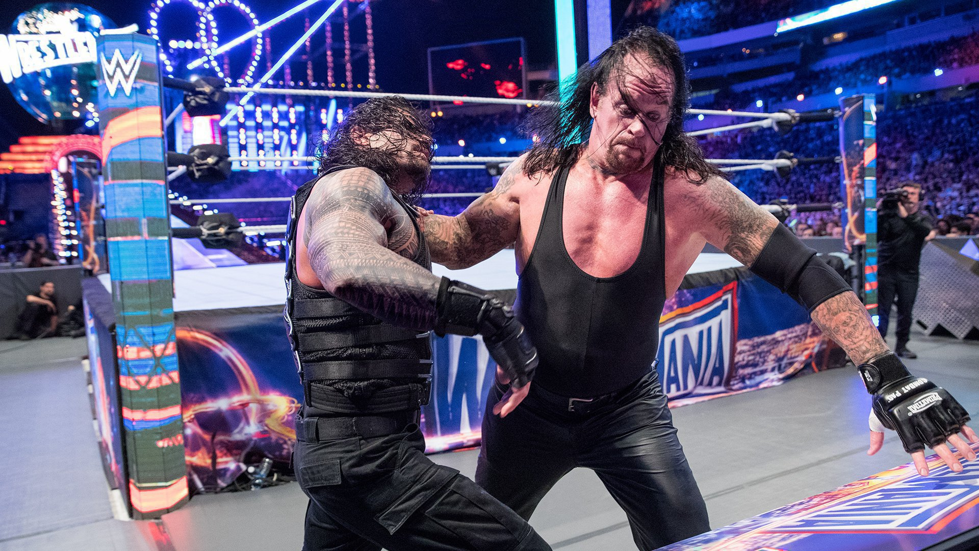 The Undertaker Spoke On Hilarious Reaction With Brock Lesnar At WWE Summerslam 2