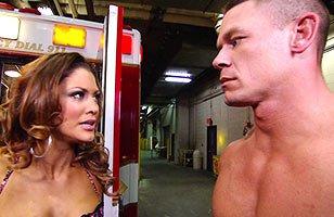 John Cena y Eve Torres