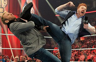 Sheamus is 'kicking' Christian out of contention