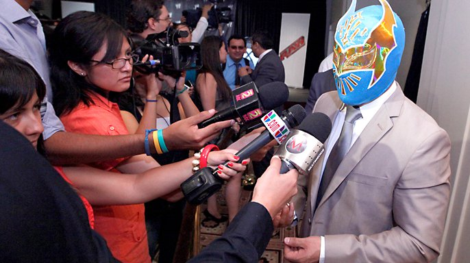 sin cara wwe mask. sin cara wwe without mask. wwe