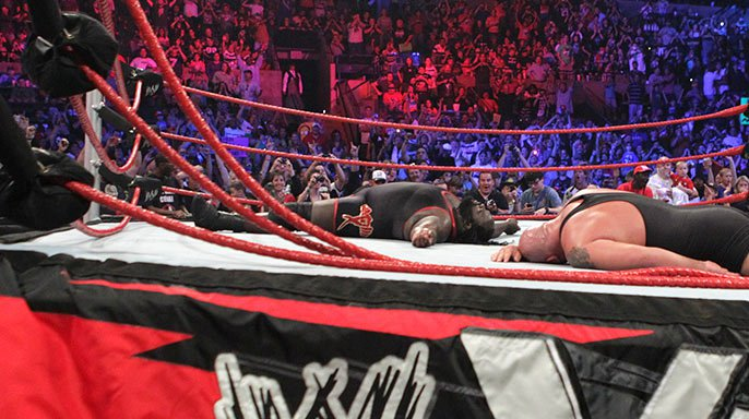 Smackdown Ring Collapse