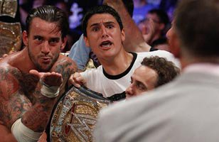 CM Punk def. John Cena (New WWE Champion)