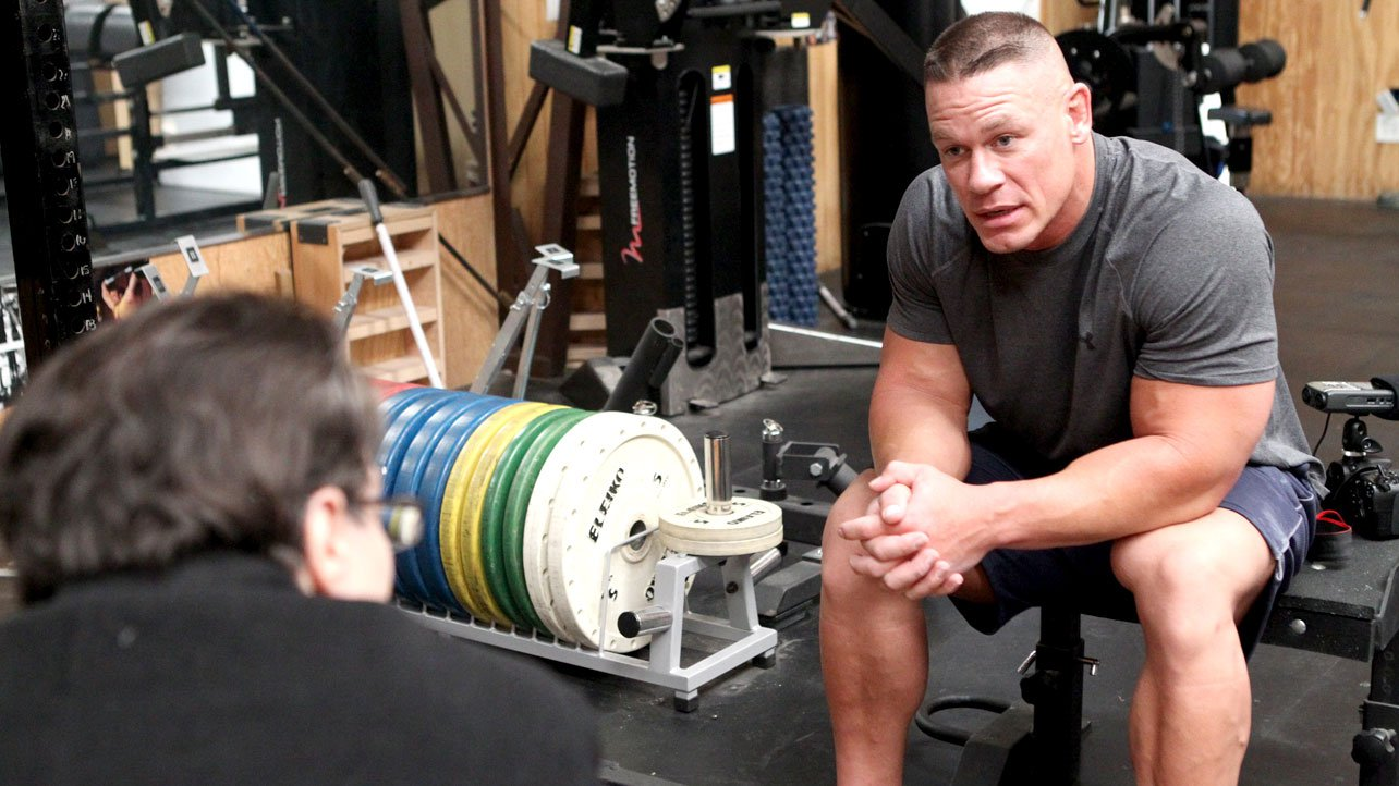 Le site officiel fran ais de catch pour l 39 univers de la wwe - John cena gym image ...