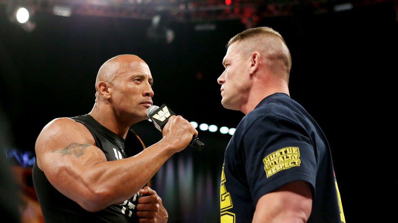 the rock and john cena meet face to