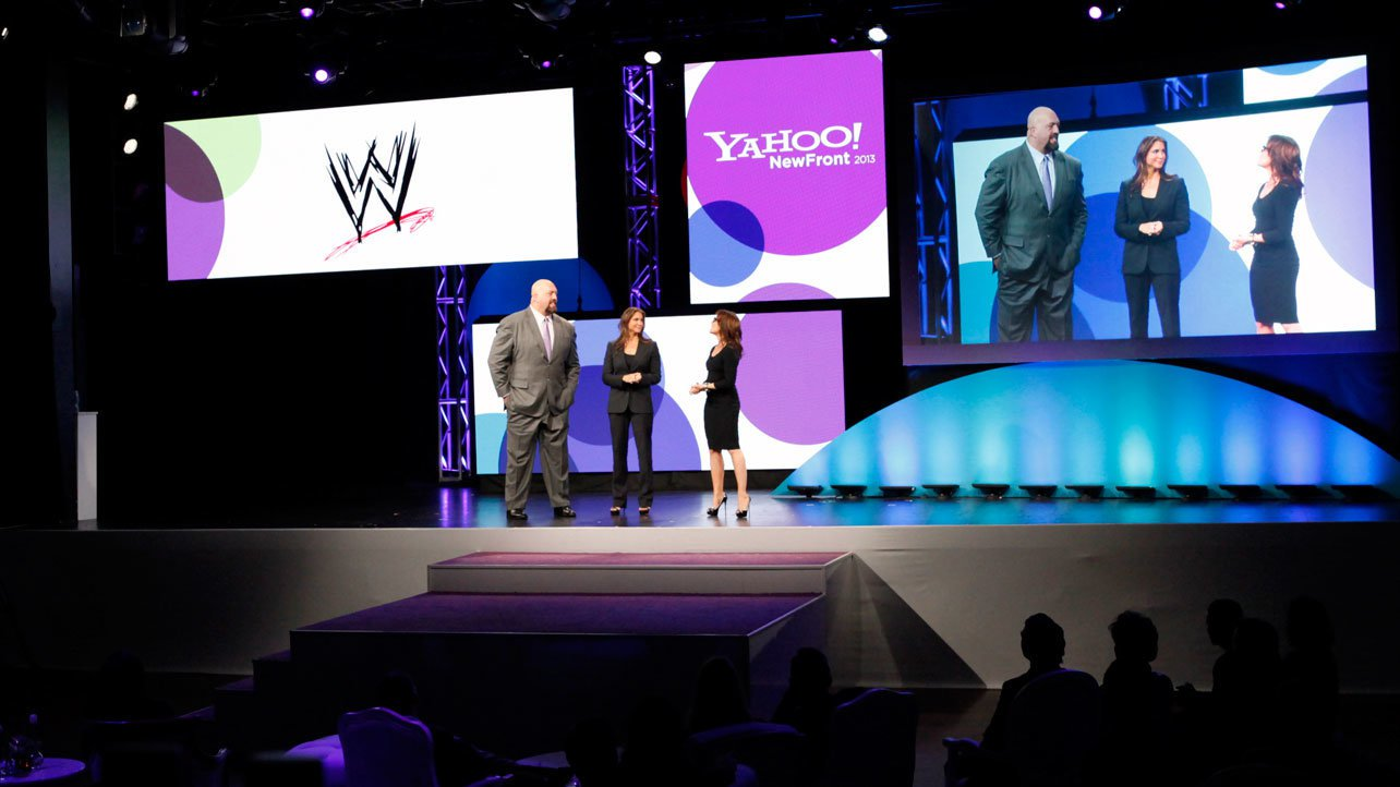 WWE Executive Vice President of Creative Stephanie McMahon and Big Show made the historic announcement.