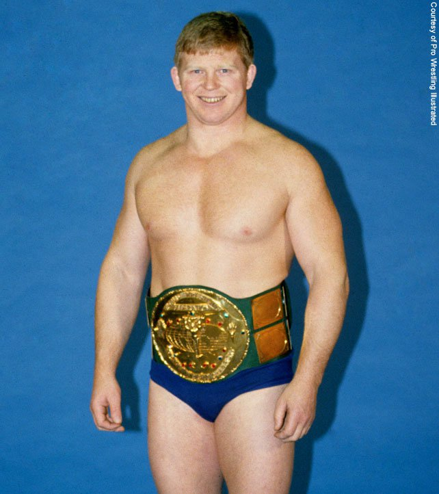 Bob Backlund WWF Champion