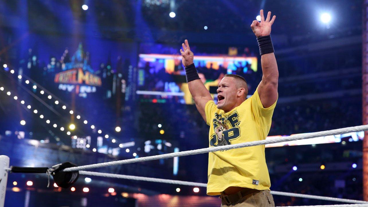 John Cena o swoim występie na WrestleManii 34