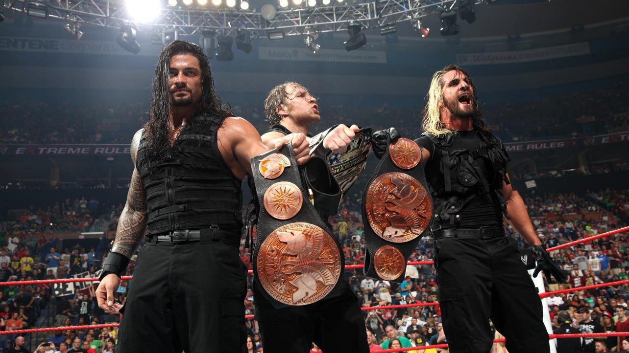 Team Hell No vs. The Shield: WWE Tag Team Championship Tornado Match
