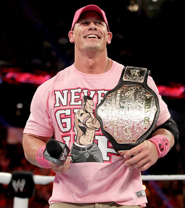 "World Heavyweight Champion John Cena The ""Big Gold&quo..."