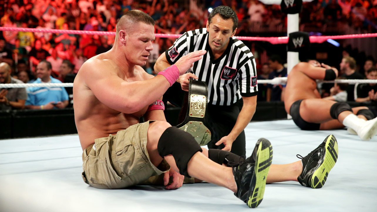What Brand Shoes Does John Cena Wear