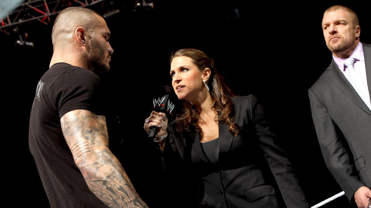 Randy Orton And Stephanie Mcmahon Stephanie McMahon tells Randy