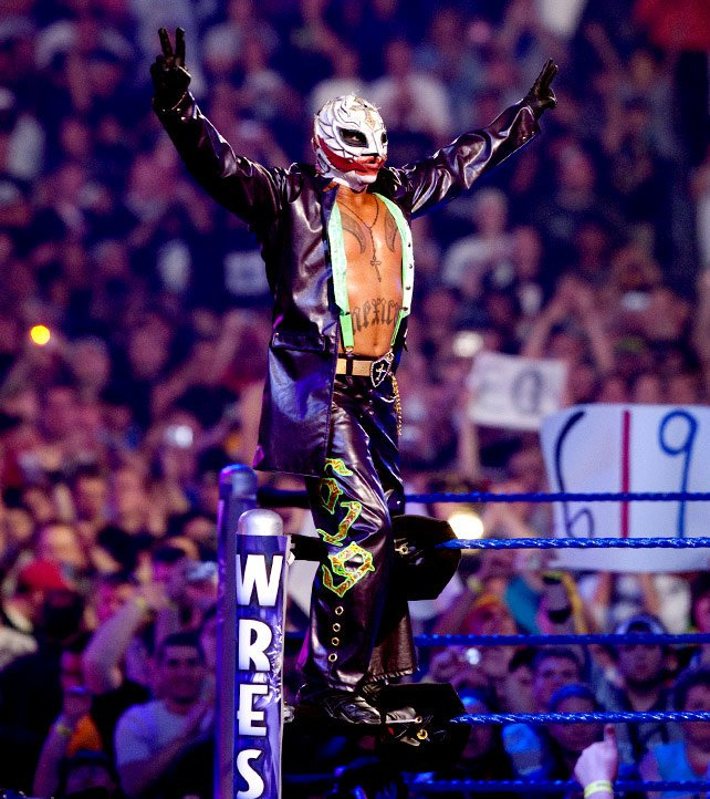 Rey Mysterio sought inspiration from The Joker for his match at The 25th Anniversary of WrestleMania.