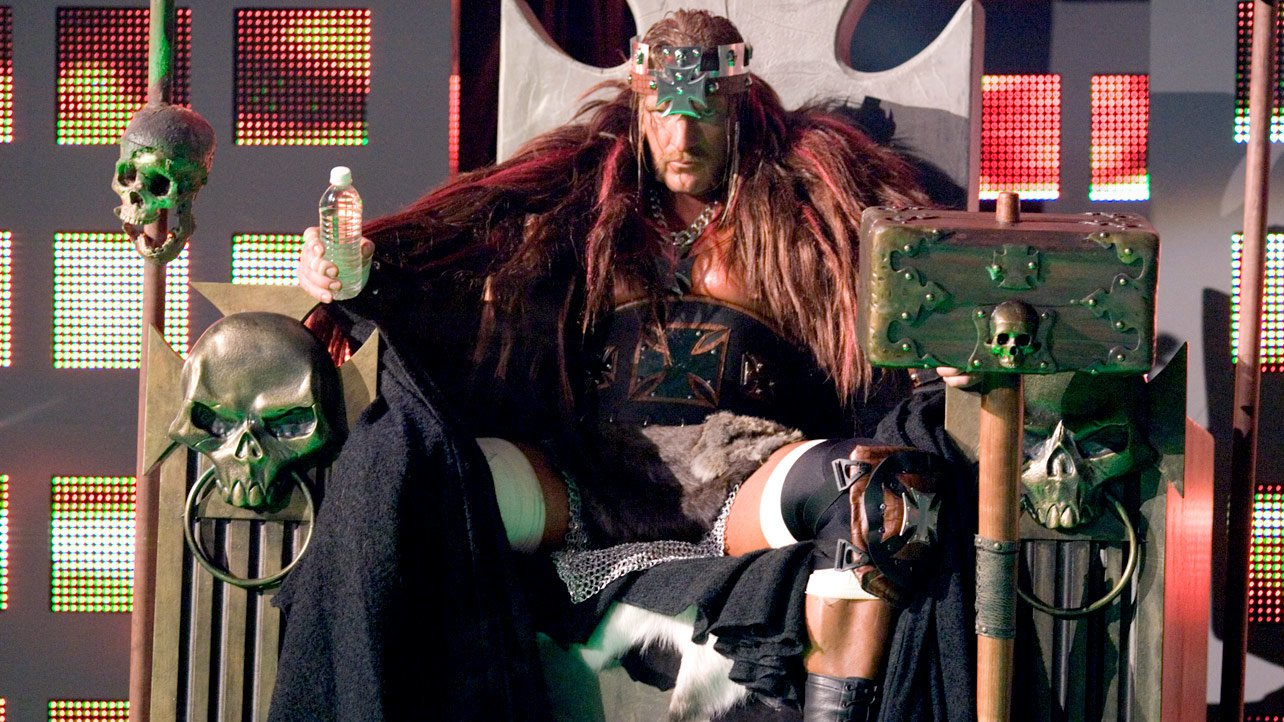 Triple H was in full King of Kings mode at WrestleMania 22.