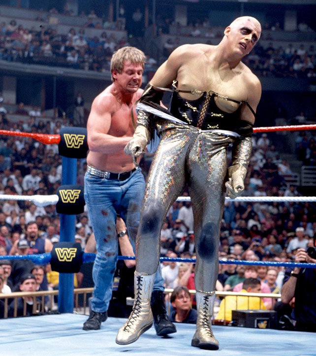 The WWE Universe learned a lot about Goldust's proclivities during his Hollywood Back Lot Brawl against Roddy Piper.