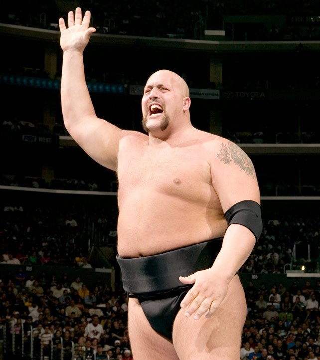 Big Show put on traditional sumo wrestling garb for his match against Akebono at WrestleMania 21.