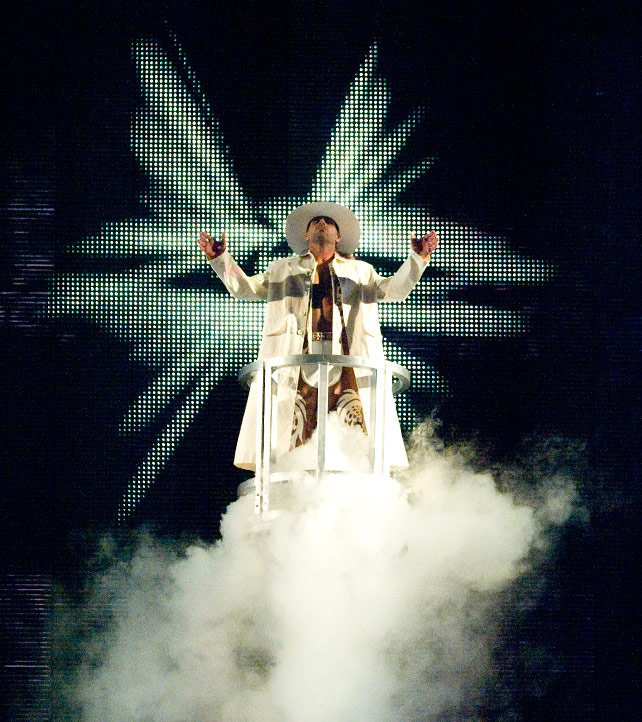 Shawn Michaels wore all white the first time he faced The Undertaker on The Grandest Stage of Them All.