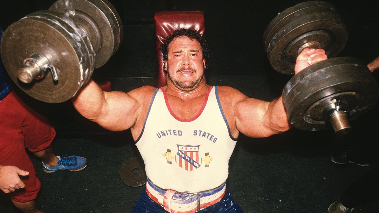 Marvelous Ted Arcidi Bench Press Part - 3: Powerlifting-Bench Press World Record. Ted Arcidi ...
