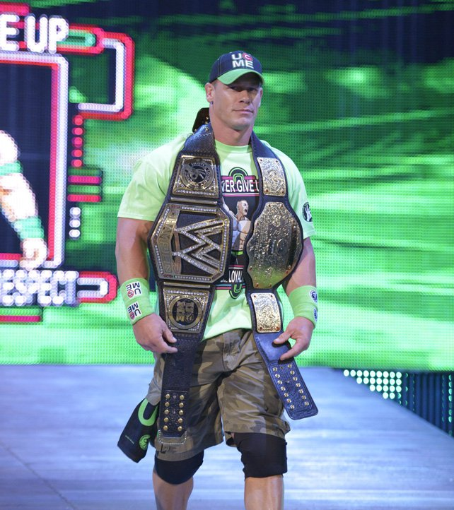 Le site officiel français de catch pour l'Univers de la WWE Wwe John Cena World Heavyweight Champion 2014