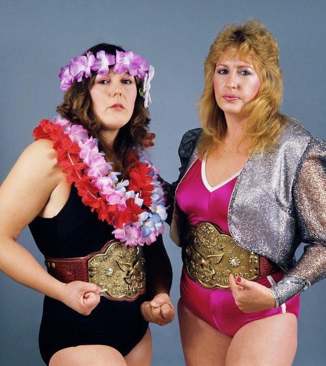 The Glamour Girls (Judy Martin & Leilani Kai)