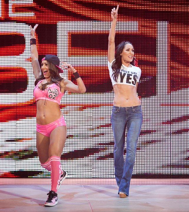 The Bella Twins (Nikki & Brie)