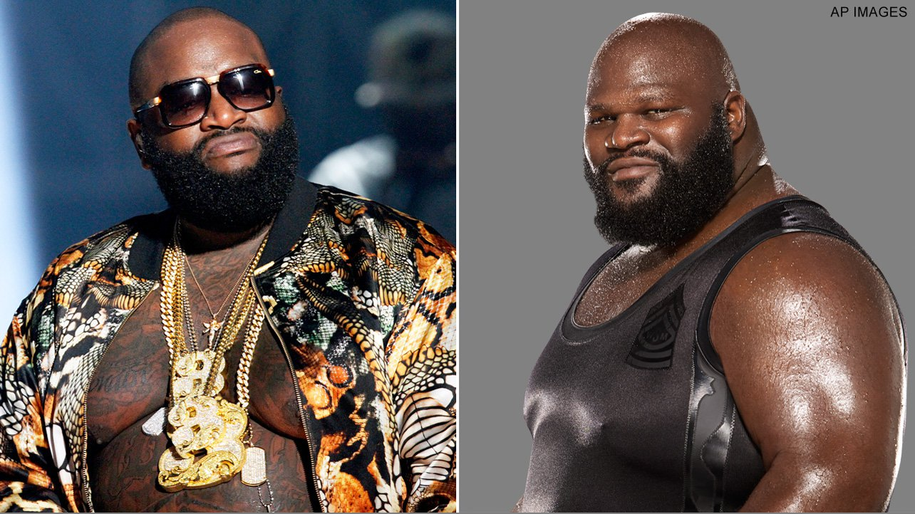 Mark Henry Rick Ross Son Wwwmiifotoscom