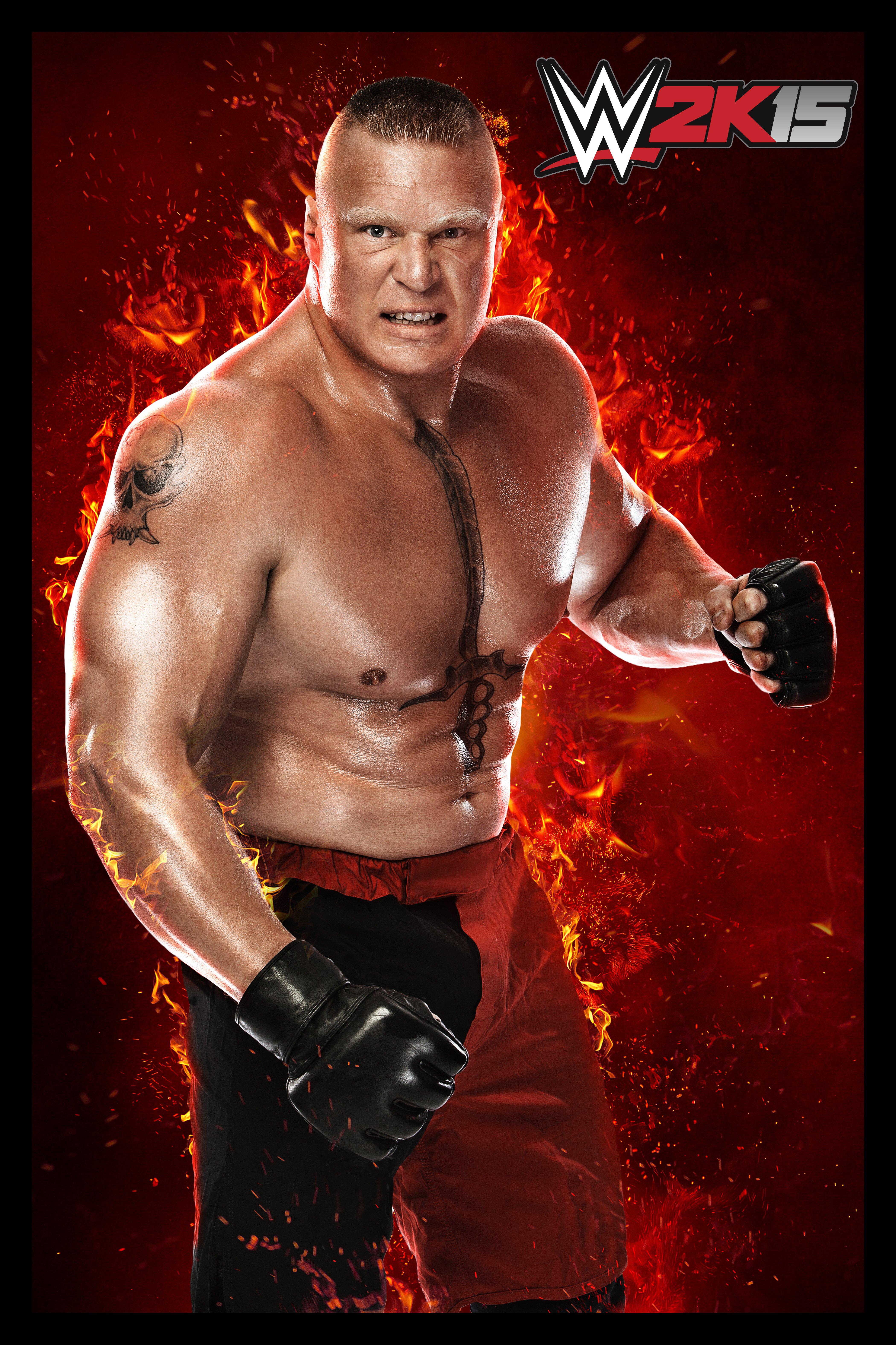 Brock Lesnar WWE 2K15